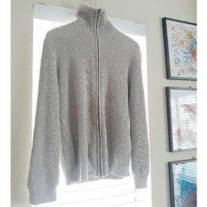 J. Crew zip up sweater Medium